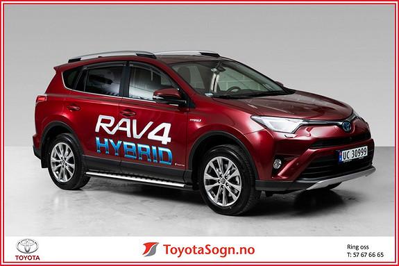 Toyota RAV4 Hybrid AWD Executive  2018, 7200 km, kr 489000,-