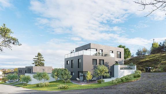 Kun en igjen! Nyoppført leilighet på 110 kvm som blir innfytningsklar desember 2018/ Nord for Falchåsen.