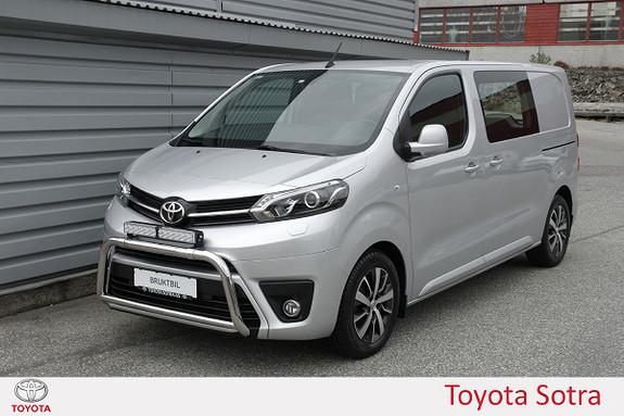 Toyota Proace 1,6 D 116 Comfort L1H1  2017, 11952 km, kr 269000,-