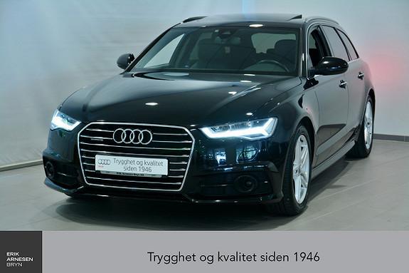 Audi A6 Avant 2,0 TDI 190hk quattro S tronic Sport  2017, 31100 km, kr 559000,-