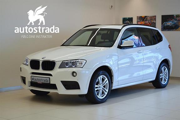 BMW X3 XDRIVE20D M-sport/Navi/Panorama