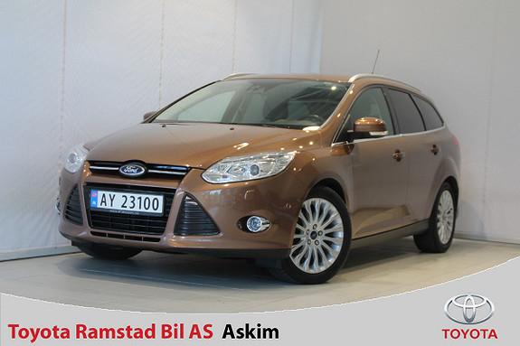 Ford Focus 2,0 TDCi 115hk Titanium Aut. Powershift, DAB+  2014, 74150 km, kr 158000,-