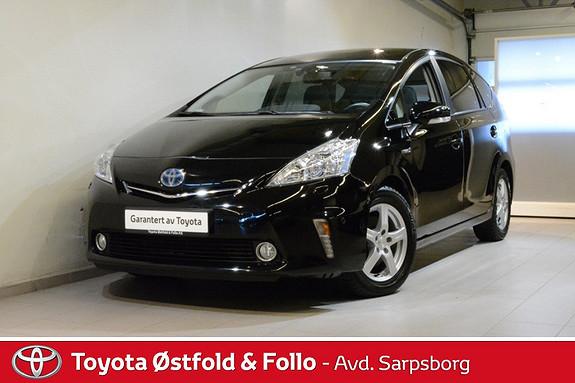 Toyota Prius+ Seven 1,8 VVT-i Hybrid Premium , SKINN/RADARCRUISE/PANORAMATA  2013, 107700 km, kr 218000,-