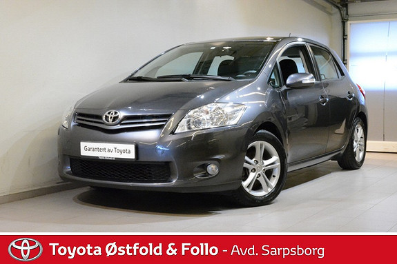 Toyota Auris 1,33 Dual VVT-i  Stop&Start Advance , TILHENGERFESTE,  2010, 91800 km, kr 105000,-
