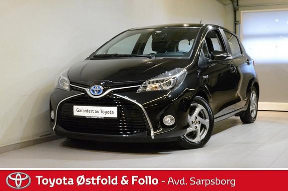 Toyota Yaris 1,5 Hybrid Active e-CVT  2015, 23200 km, kr 172000,-