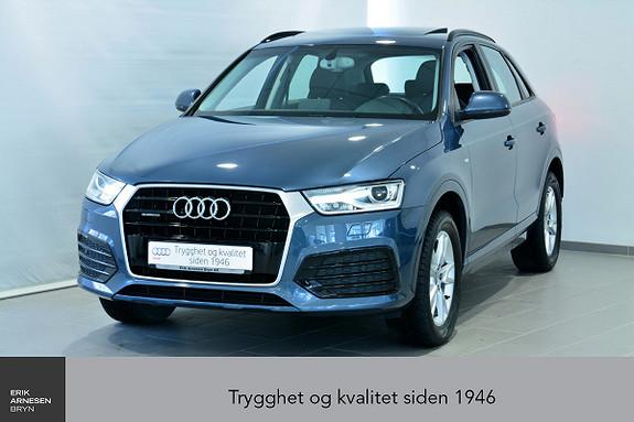 Audi Q3 2,0 TDI 150hk Quattro S tronic  2015, 30800 km, kr 399000,-
