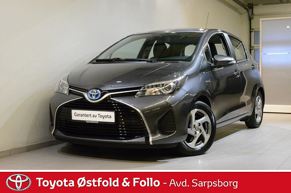 Toyota Yaris 1,5 Hybrid Active e-CVT , CRUISECONTR./DAB+/NAVI,  2015, 28900 km, kr 172000,-