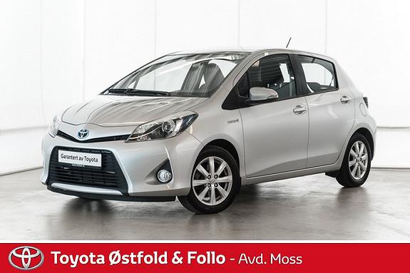 Toyota Yaris 1,5 Hybrid Active /KOMPLETT SERVICE/DAB+  2012, 66800 km, kr 128000,-