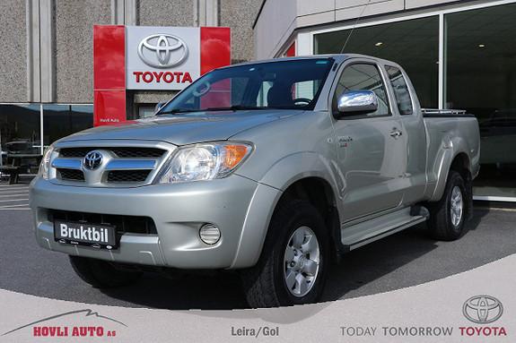 Toyota HiLux D-4D 102hk X-Cab 4wd H.feste - Eu ok 2020 - Planlokk  2006, 55125 km, kr 199900,-