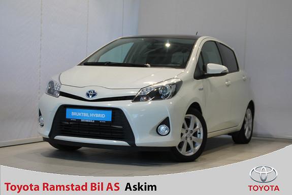 Toyota Yaris 1,5 Hybrid Style Glasstak, Navi, DAB+  2013, 74800 km, kr 149000,-