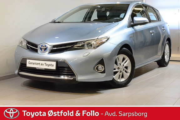 Toyota Auris 1,8 Hybrid E-CVT Active Storservice utført 2018  2013, 62500 km, kr 184000,-