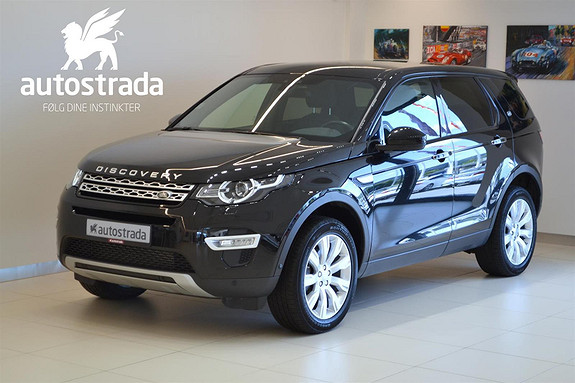 Land Rover Discovery Sport TD4 190HK HSE LUXURY