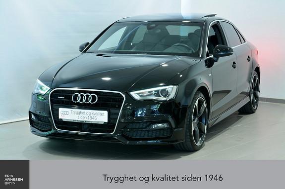 Audi A3 Sportsedan 1,8 TFSI 180hk Ambit Quattr S-tr.  2015, 58990 km, kr 359000,-