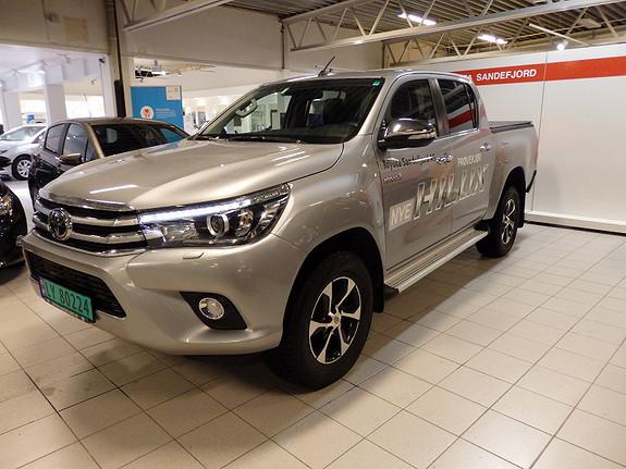 Toyota HiLux 2.4Diesel D-Cab SR+ Automat 4x4  2016, 29000 km, kr 379000,-