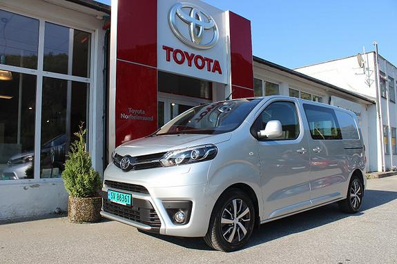 Toyota Proace 2.0D 122hk Comfort Plus Medium L1H1  2018, 7500 km, kr 299900,-