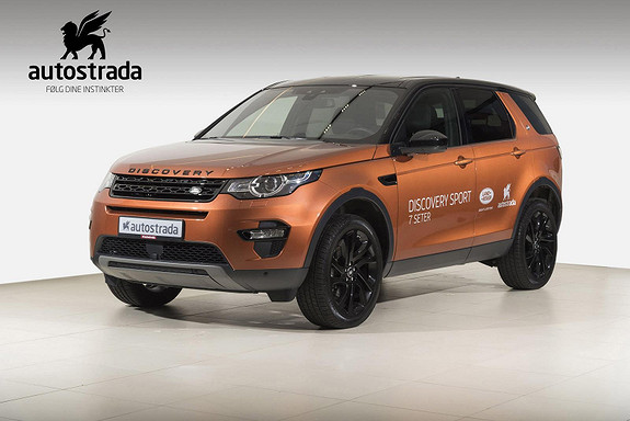 Land Rover Discovery Sport HSE 150HK AWD!  2018, 13 000 km, kr 699 000,-