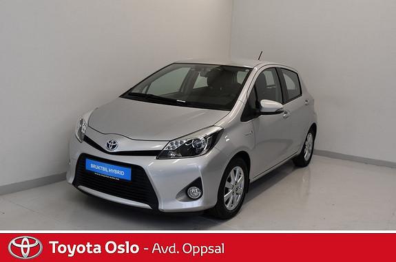 Toyota Yaris 1,5 Hybrid Active Navi og Ryggekamera  2013, 50239 km, kr 139900,-