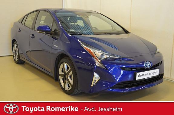 Toyota Prius 1,8 VVT-i Hybrid Executive Skinn, JBL, P.sensorer, HUD,  2017, 15400 km, kr 309000,-