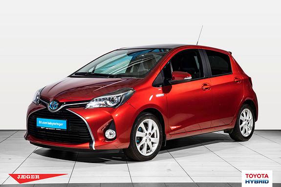 Toyota Yaris 1,5 Hybrid Style e-CVT aut Glasstak Flott bil  2015, 34700 km, kr 199000,-