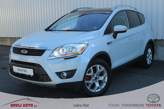 Ford Kuga 2,0 TDCi 136hk Titanium X / Skinn / Glasstak / 1 eier  2011, 157200 km, kr 139900,-