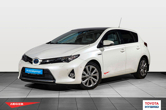 Toyota Auris 1,8 Hybrid E-CVT Executive Glasstak Tectylert  2015, 25600 km, kr 249000,-