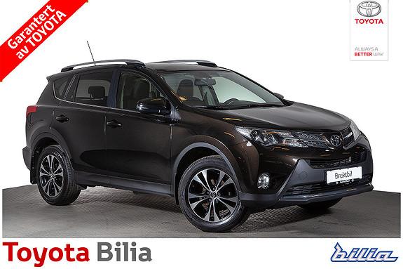 Toyota RAV4 2,0 D-4D 4WD Active Style 1 Eier, hengerfeste.  2014, 123892 km, kr 269900,-