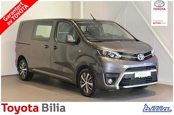 Toyota Proace 2,0 D 122 Comfort Plus L1H1 Hfeste Navigasjon  2017, 14000 km, kr 269000,-