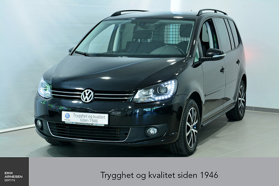 Volkswagen Touran 1,6 TDI DSG7 Freestyle  2015, 77100 km, kr 159000,-