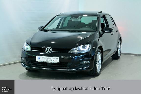 Volkswagen Golf 1,4 TSI 125hk Highline DSG Panorama, LED, Webasto, DAB+  2015, 40100 km, kr 239000,-