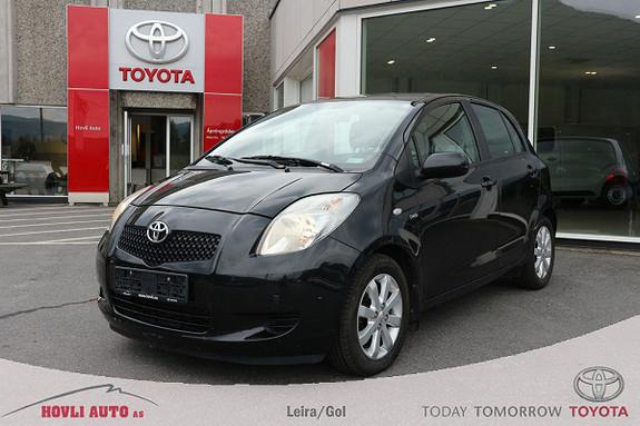 Toyota Yaris 1,4 D-4D Sol M/M AC//3mnd Garanti//DAB+//Defa+ Vifte  2007, 65730 km, kr 79900,-