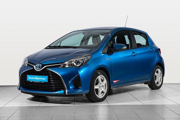 Toyota Yaris 1,5 Hybrid Active S e-CVT  2016, 48400 km, kr 199000,-