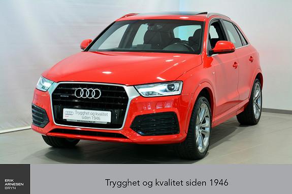 Audi Q3 2,0 TDI 150hk quattro S tronic  2015, 40900 km, kr 399000,-