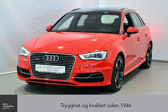 Audi A3 Sportback 1,4 TFSI Ambition Plug-in hybrid  2016, 53700 km, kr 279000,-