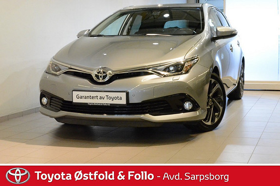 Toyota Auris 1,2 Turbo Style aut Hengerfeste / utført service!  2015, 35000 km, kr 215000,-