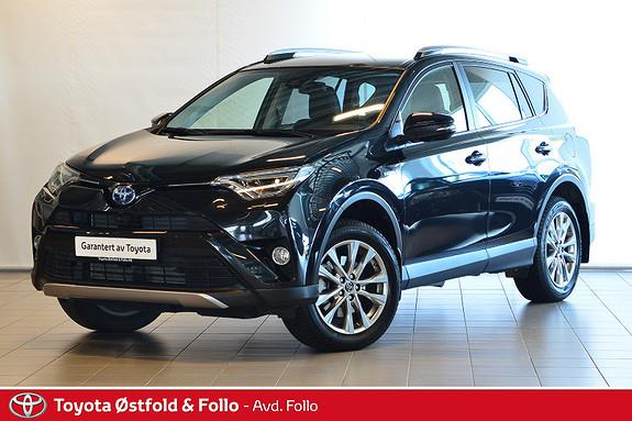 Toyota RAV4 Hybrid 2WD Executive  2017, 3132 km, kr 419000,-
