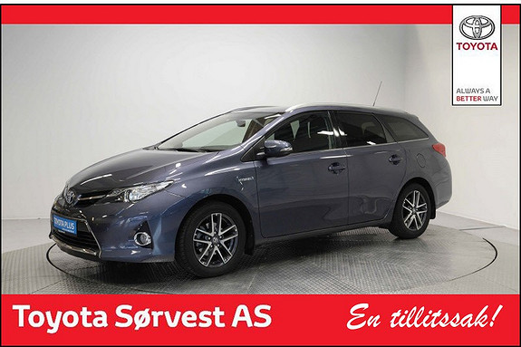 Toyota Auris Touring Sports 1,8 Hybrid Active+  2015, 59 800 km, kr 209 000,-