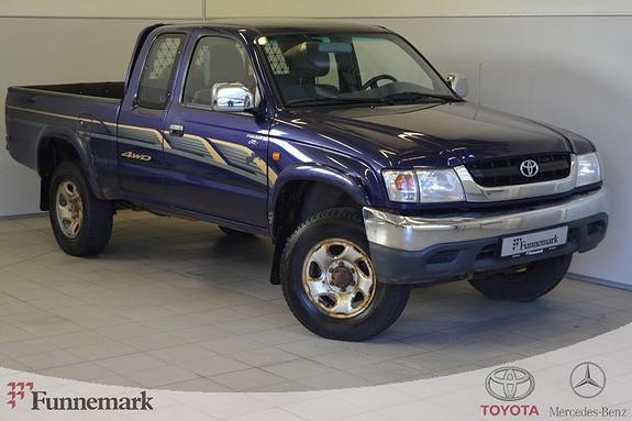 Toyota HiLux D-4D X-Cab Hengerfeste, Dab+,  2001, 246000 km, kr 49000,-