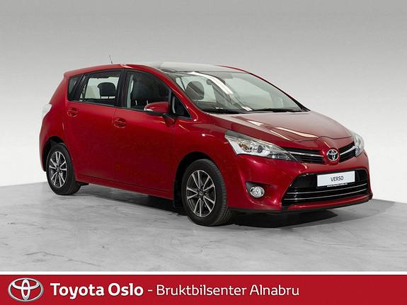 Toyota Verso 1,6 Panorama 7 seter Flott familiebil  2013, 82227 km, kr 194900,-