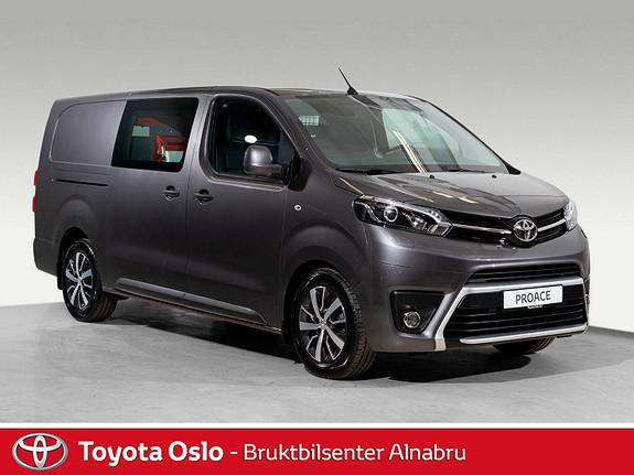 Toyota Proace 2,0 D 177 Comfort L2H1 Automat, DAB+,  2017, 11160 km, kr 349900,-