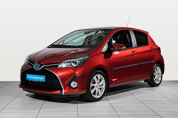 Toyota Yaris 1,5 Hybrid Style e-CVT Automat Glasstak+ Navi+ tectylert  2015, 25700 km, kr 196000,-