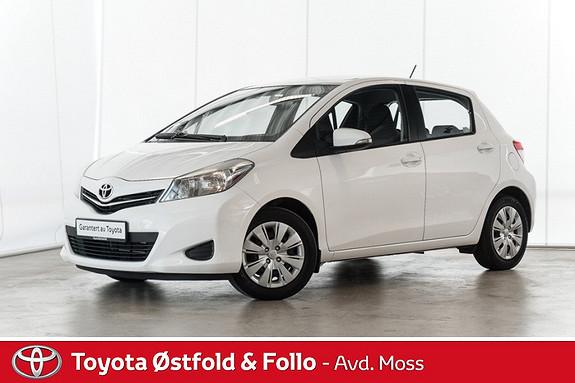 Toyota Yaris 1,0 Active /STORSERVICE TATT I ÅR  2013, 83900 km, kr 114000,-