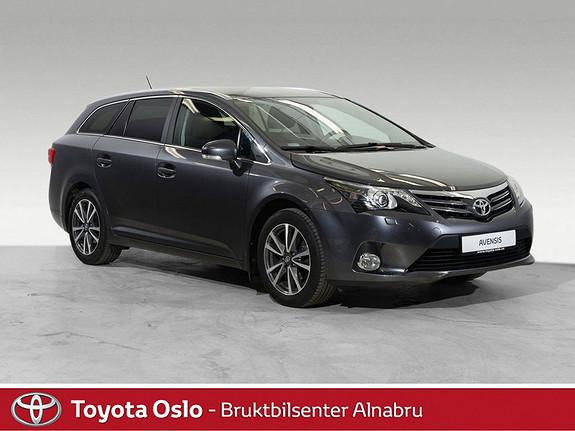 Toyota Avensis 1,8 147hk Advance Multidrive S LAV KM  2013, 57885 km, kr 219900,-