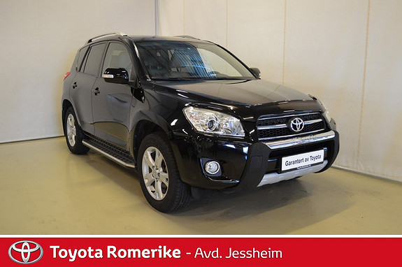 Toyota RAV4 2,0 Valvematic Executive Multidrive S  2009, 74 000 km, kr 179 000,-