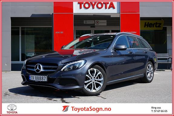 Mercedes-Benz C-Klasse C180T aut panorama  2015, 79500 km, kr 349000,-