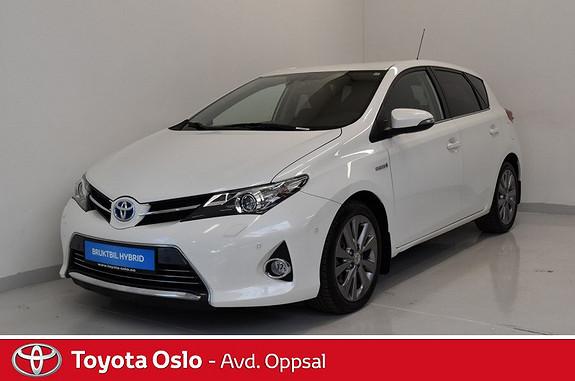Toyota Auris 1,8 Hybrid E-CVT Executive , Delskinn,  2015, 55042 km, kr 224900,-