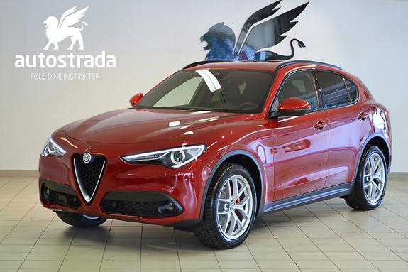 Alfa Romeo Stelvio 2.2d 210hk Q4 Sportspakke Navi H.feste