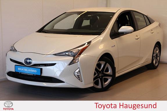 Toyota Prius 1,8 VVT-i Hybrid Executive Navi, kamera, HUD, cruise  2016, 3252 km, kr 285000,-