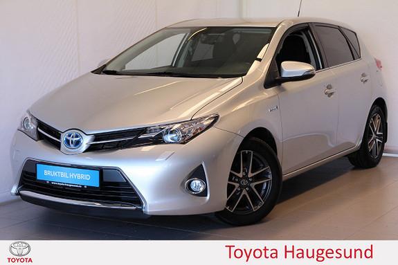Toyota Auris 1,8 Hybrid E-CVT Active+ Xenon, navi, kamera, DAB, Tect  2015, 62513 km, kr 199000,-
