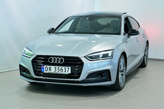 Audi A5 SB 252 TFSI Q/S SPORT LTD  2018, 16500 km, kr 699000,-