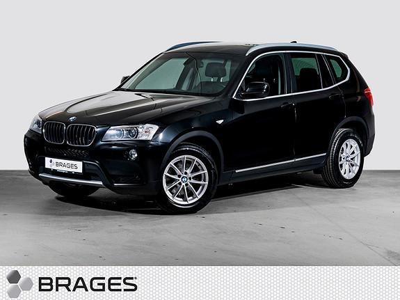 BMW X3 xDrive20d Aut. Naviproff, Webasto, Xenon, Dab+, Lyspakke++  2011, 126300 km, kr 275000,-